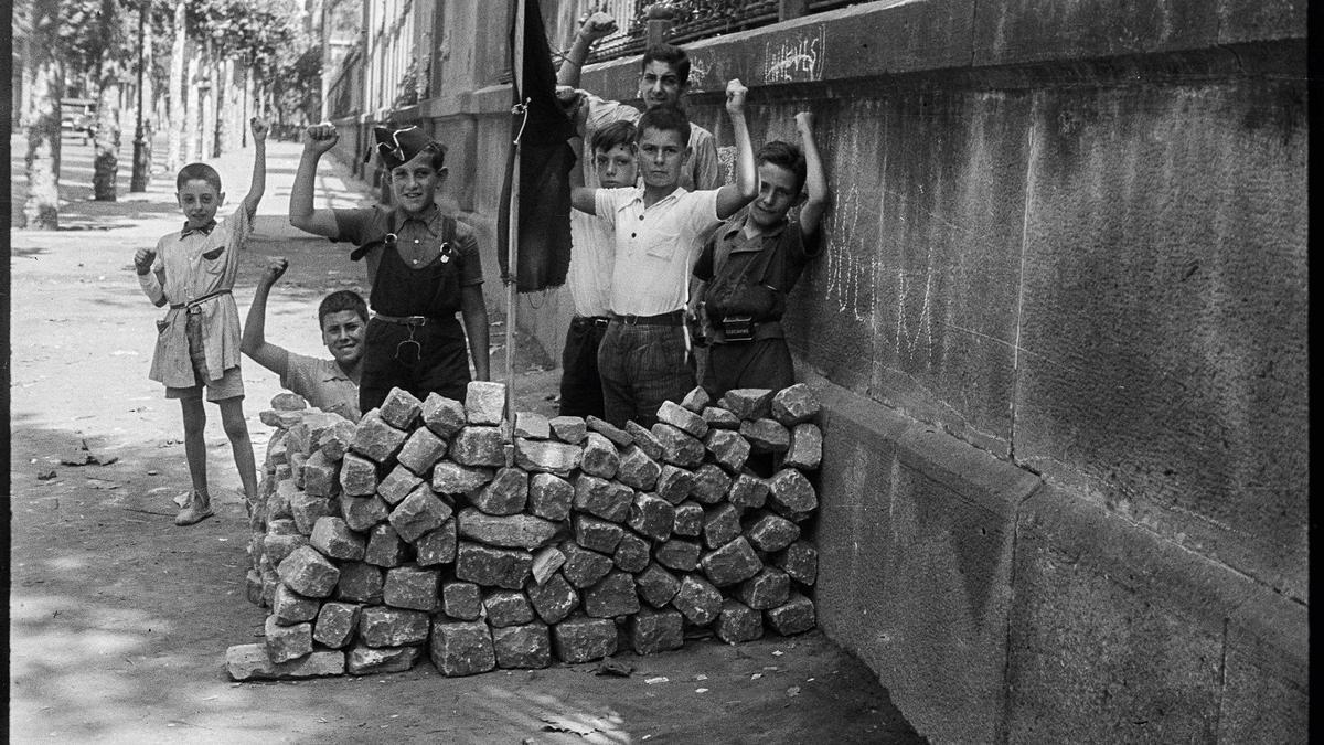 Una de les fotografies de l'arxiu de Campañà.