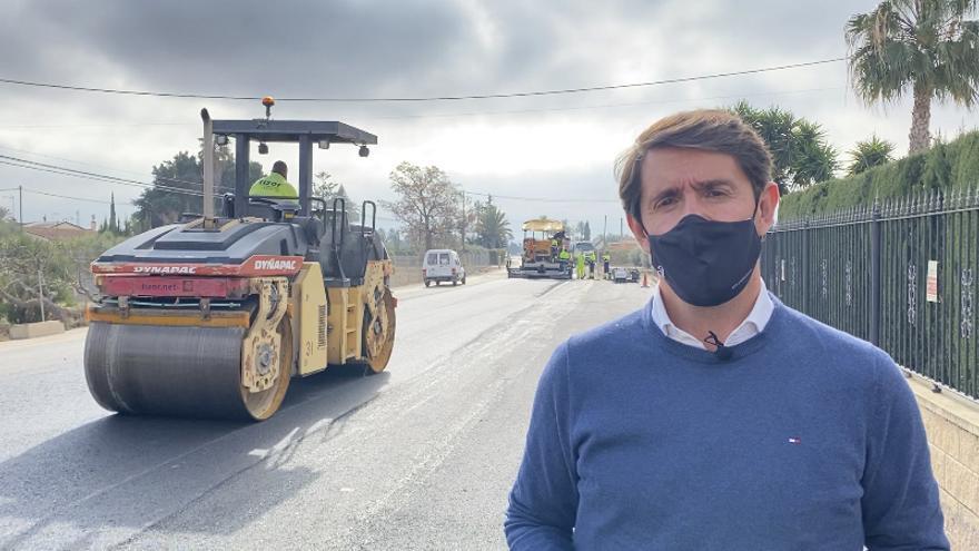 La Diputación mejora la seguridad vial en La Hoya