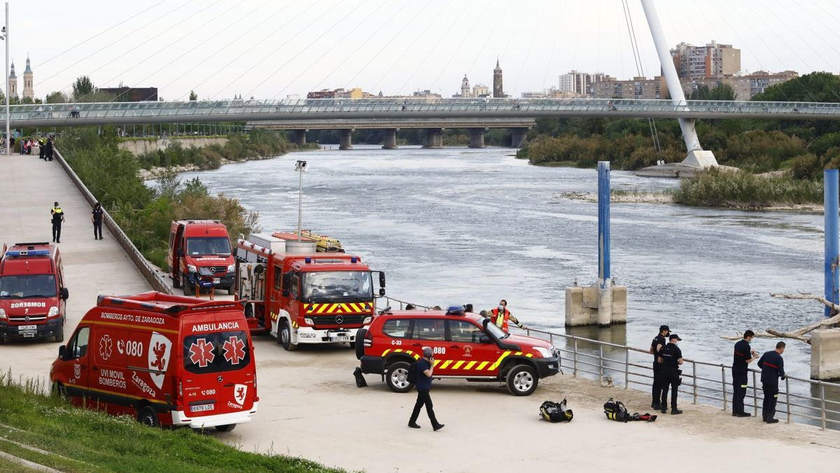 Los Bomberos de Zaragoza buscan al menor