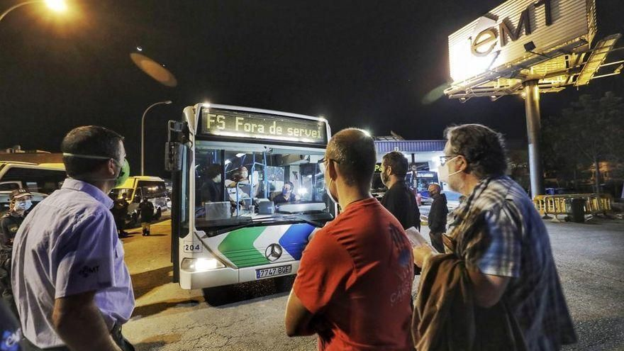 Palmas Busfahrer sind auch am Dienstag (15.9.) im Ausstand