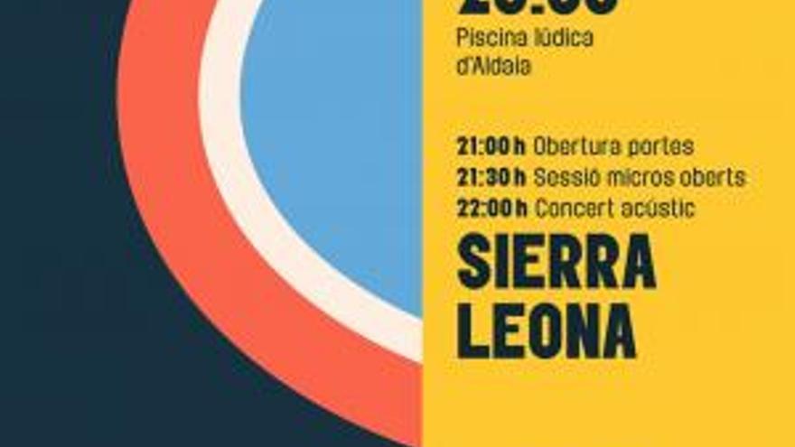 Concierto acústico de Sierra Leona
