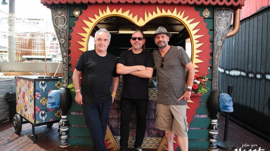 Los hermanos Adrià y Guy Laliberté abandonan Heart Ibiza