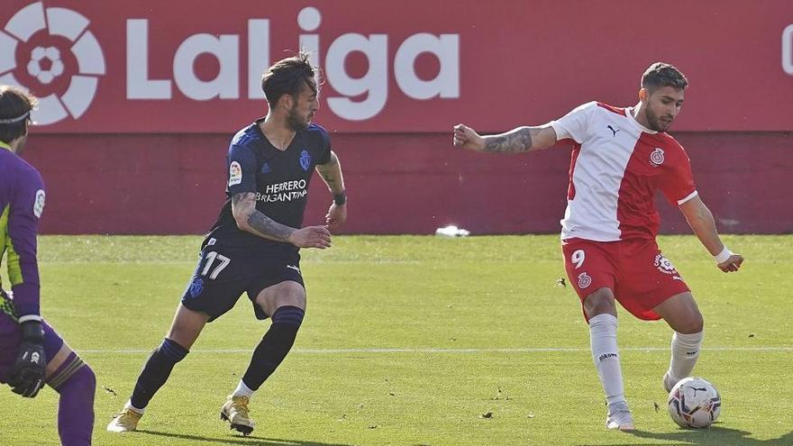 Les llàgrimes de Bustos pel seu primer gol: «Feia temps que l'esperava»