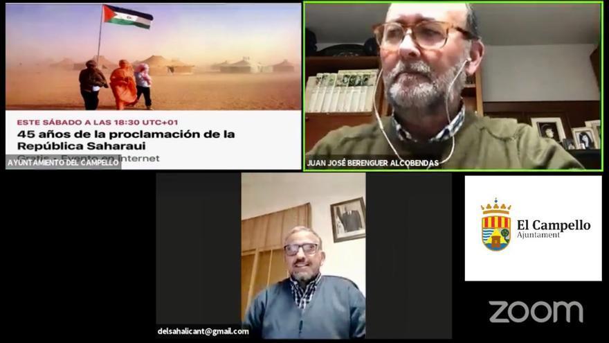 Acto reivindicativo en El Campello por el 45 aniversario de la República Árabe Saharaui