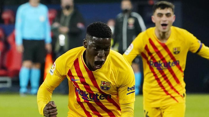 El Barcelona vence a Osasuna y cree en LaLiga