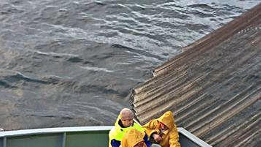 El mal tiempo lastra la pesca de jurel, única especie que captura el cerco