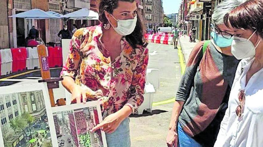 El Ayuntamiento sigue adelante con la peatonalización de Heraclio Sánchez
