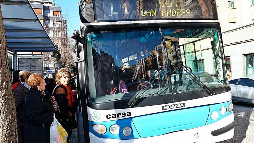 Los autobuses de Mieres congelan el precio de su billete por octavo año consecutivo