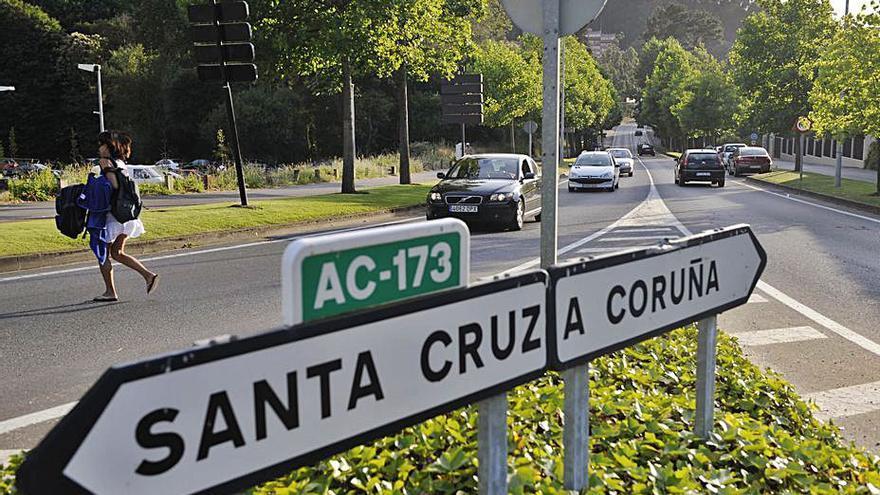 Oleiros destina 400.000 euros para el vial entre Santa Cristina y Santa Cruz