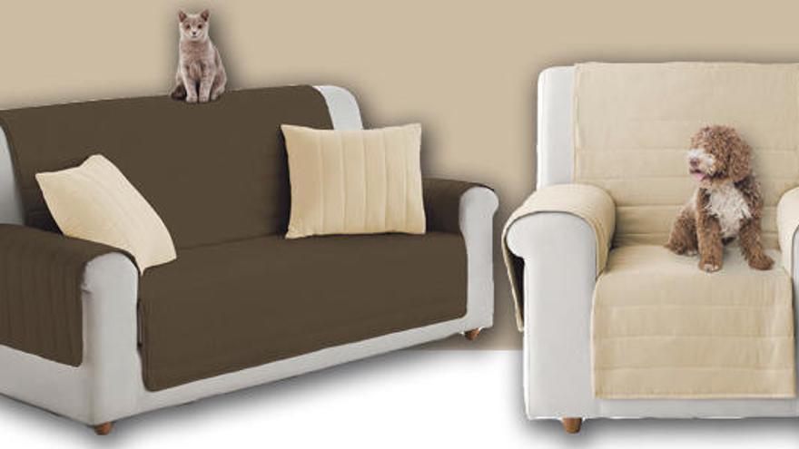 Protegeix el teu sofà amb la funda reversible que t'ofereix Regió7