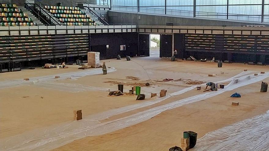 La pista del centro deportivo Juan Carlos Beiro ya suma casi tres años cerrada