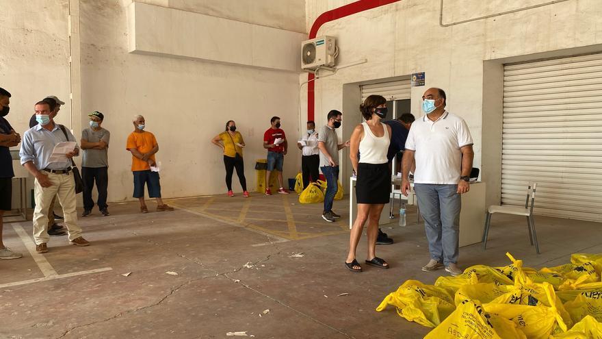 El Ayuntamiento de Orihuela contrata a 99 desempleados agrícolas durante tres meses
