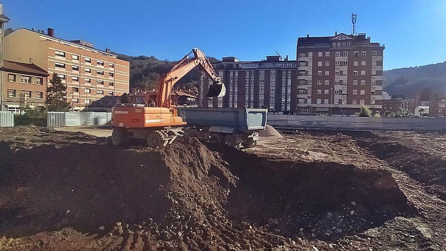 Arranca la obra del cuartel de Mieres, que estará operativo en el verano de 2022