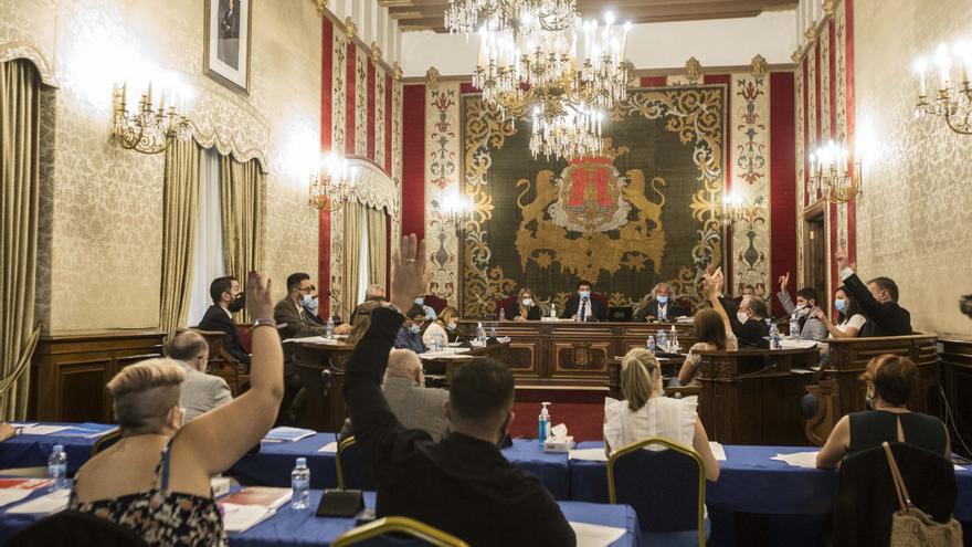 Alicante recupera los plenos telemáticos para cumplir las medidas covid