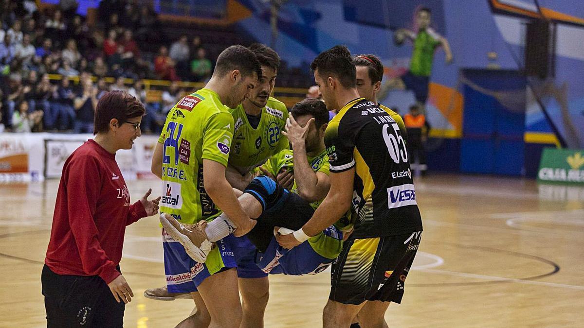 Raúl Maíde volverá a jugar un año después de su lesión.   N. R.