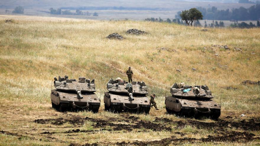 Israel ataca objectius iranians a Síria