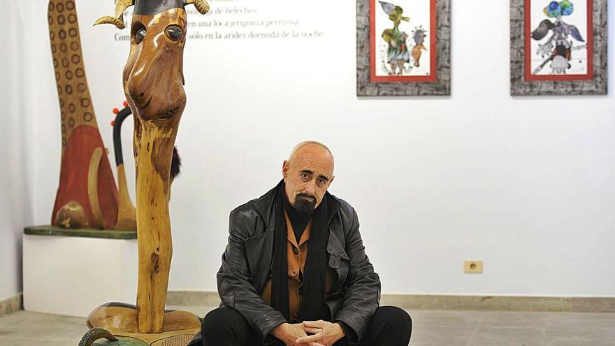 El escultor Paco Pestana fallece en Lugo a causa de un infarto a los 72 años