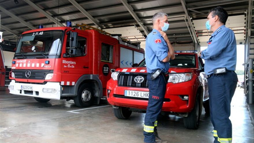 Malestar entre els bombers dels parcs gironins i crítiques de l'Ajuntament de la Jonquera