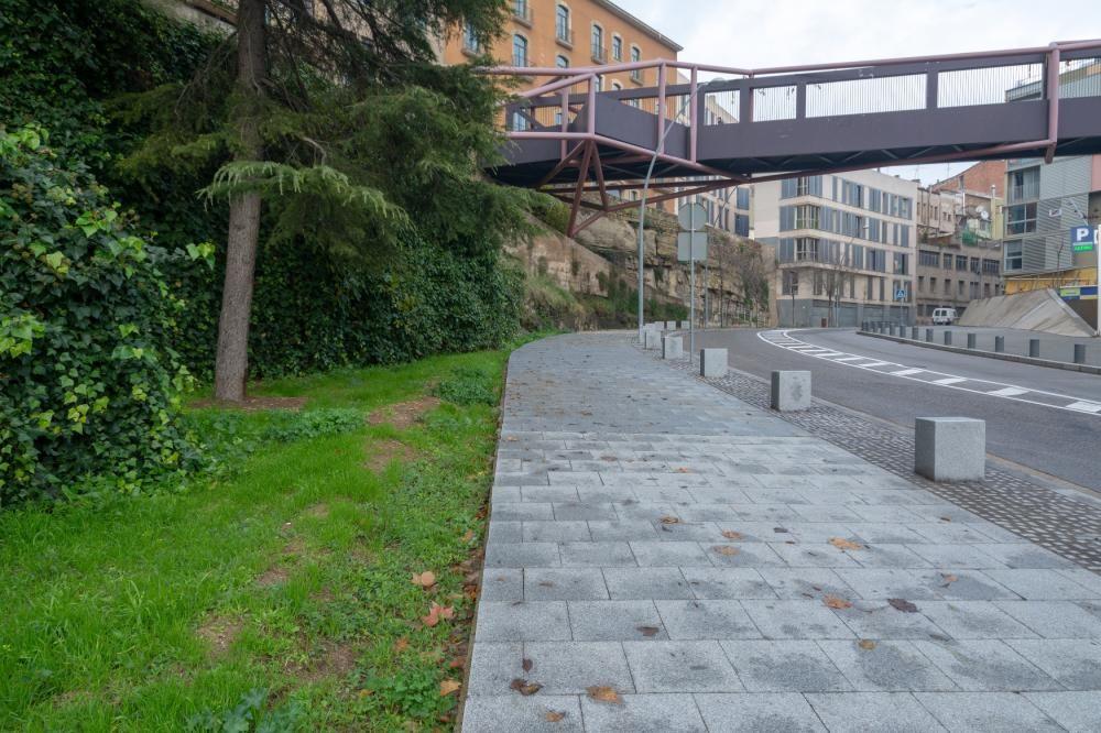 La via de Sant Ignasi es va millorar el 2018 i també aquest 2019.