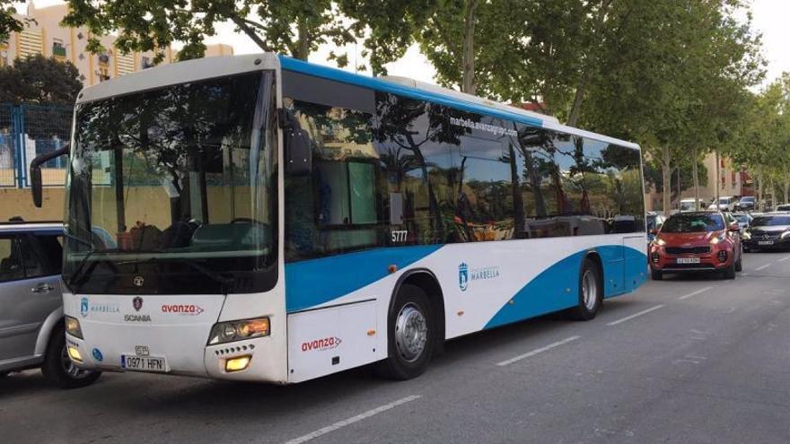 El uso del transporte urbano en Marbella creció un 51 por ciento durante los meses de verano