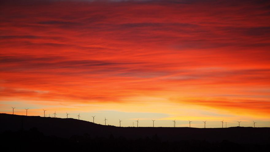Candán, Monte Faro y Brañas do Xestoso, los más afectados por eólicos hasta 2009