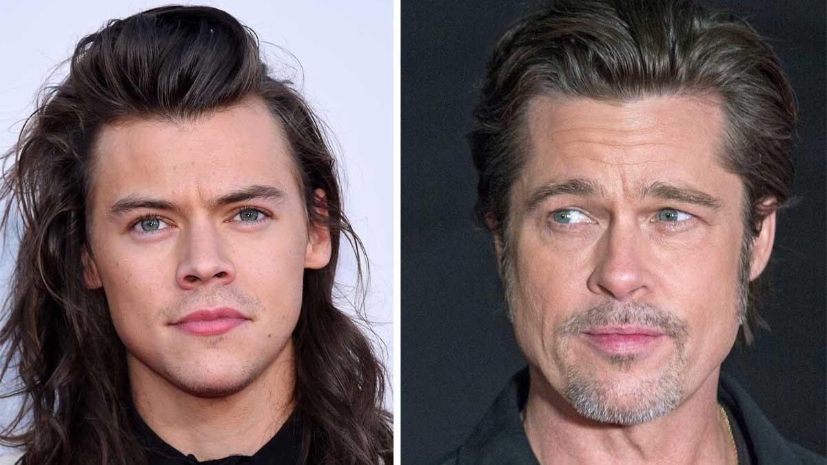 Harry Styles y Brad Pitt.
