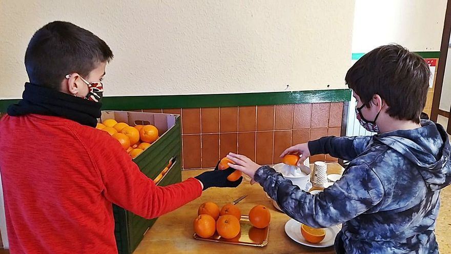 Barx llama a exportar el reparto de zumo de naranja