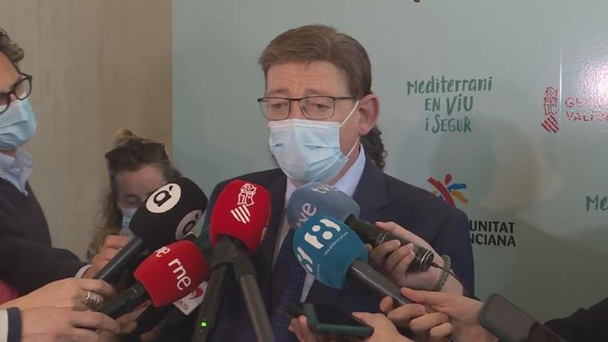 """Puig defiende la """"contundencia"""" de las medidas contra Rafael Rubio"""