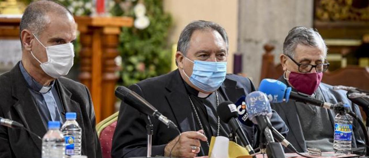 El obispo José Mazuelos