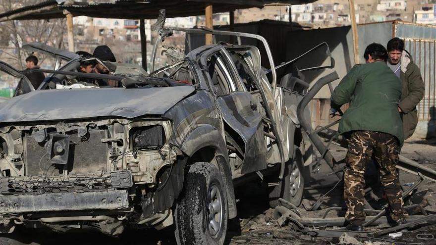 Al menos dos fallecidos y cuatro heridos en dos ataques en Kabul