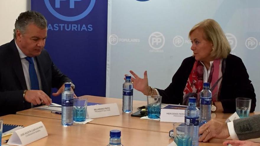 PP y FADE escenifican su coincidencia en el diagnóstico de Asturias
