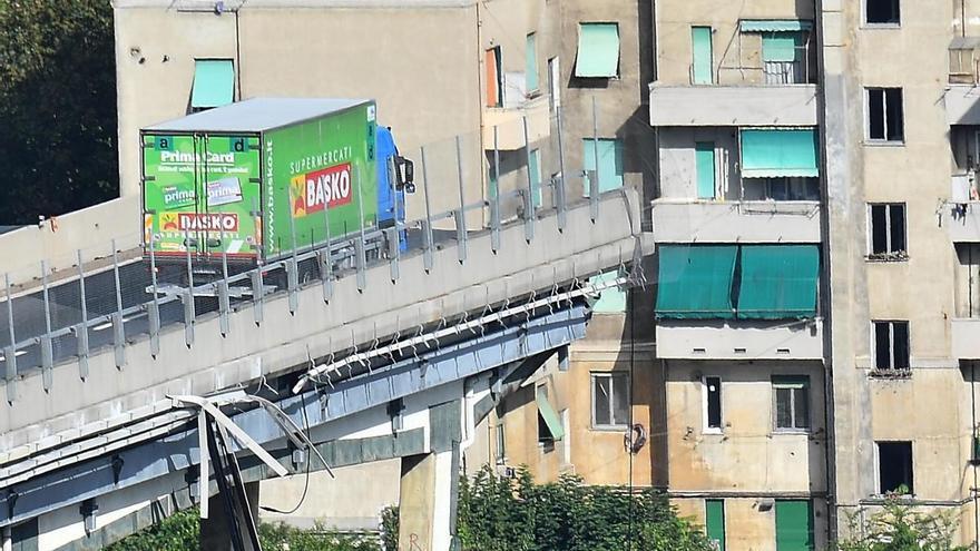 Asesores contratados por Autostrade advirtieron del deterioro del puente el año pasado