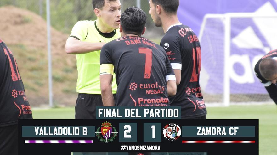 El Zamora CF elevará una queja a la RFEF por el arbitraje de López Vila en Valladolid