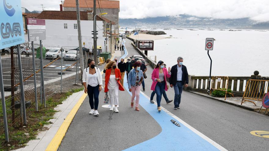 Moaña abre con el Camiño Real el tramo para peatones más largo de toda Galicia