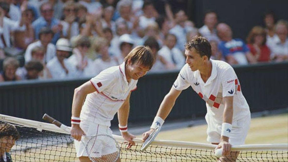 """La rivalidad feroz entre Connors y Lendl: """"Si quiero un amigo me compro otro perro"""""""