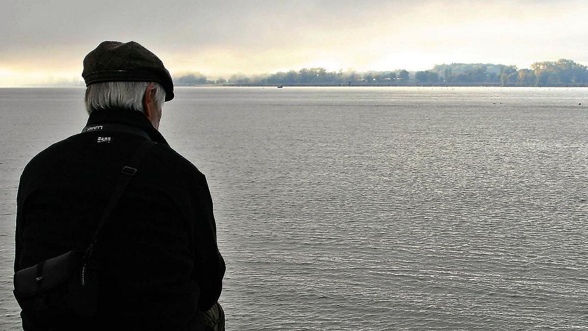 Un anciano, en una imagen de archivo.