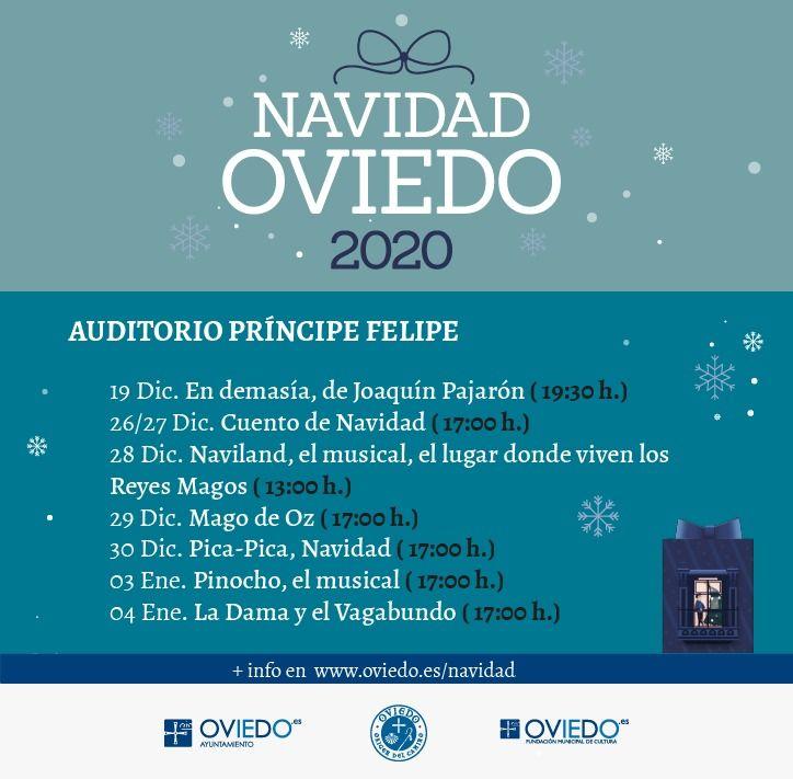 Programación Navidades en Oviedo