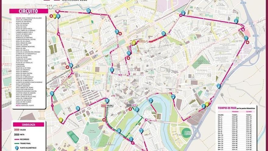 La Media Maratón provocará cortes el domingo desde las 6.00 hasta las 13.30 horas