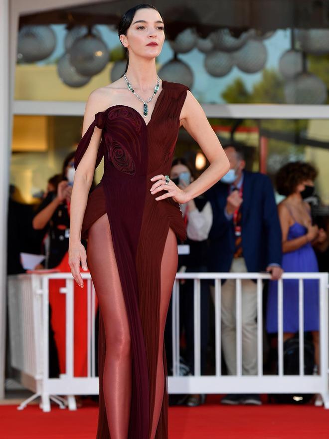 La modelo italiana Mariacarla Boscono.