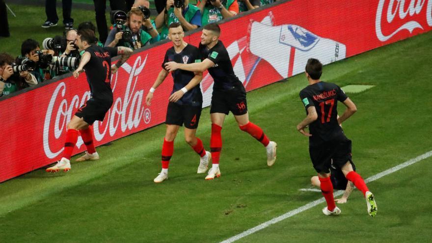 Croàcia guanya a la pròrroga i passa a la final del Mundial
