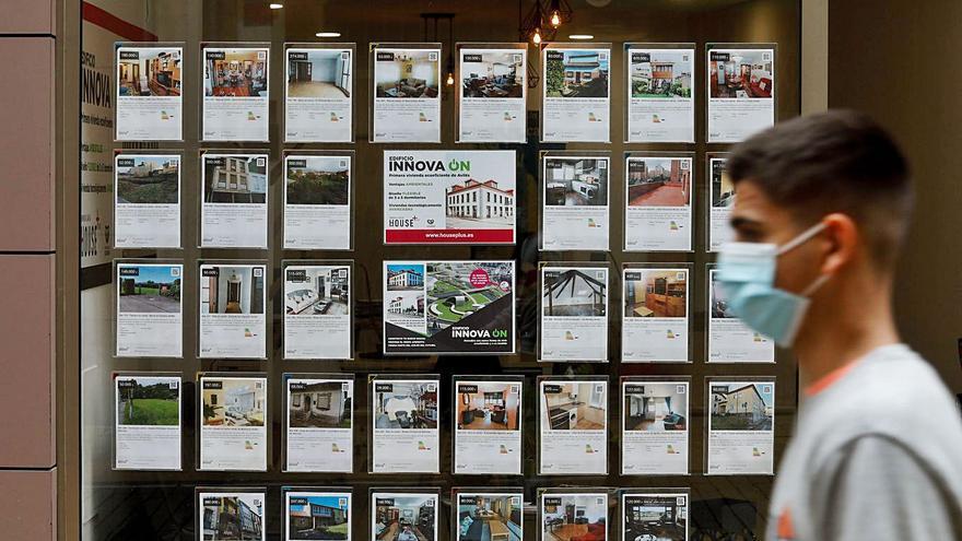 Las inmobiliarias detectan ya escasez de oferta de pisos a la venta en Oviedo y Gijón