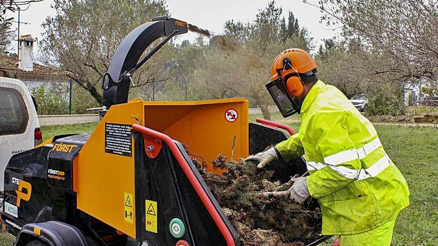 Un nuevo reglamento ofrecerá alternativas   a la quema de podas