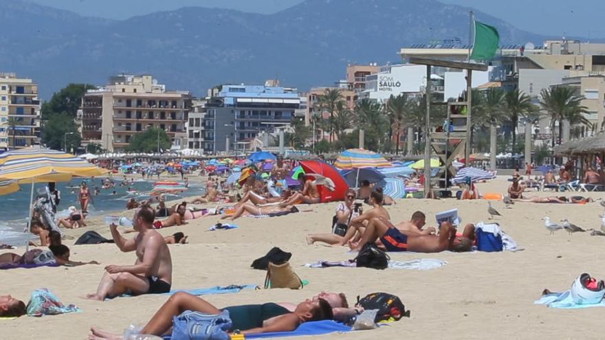 An der Playa de Palma haben Anfang April 15 Hotels geöffnet