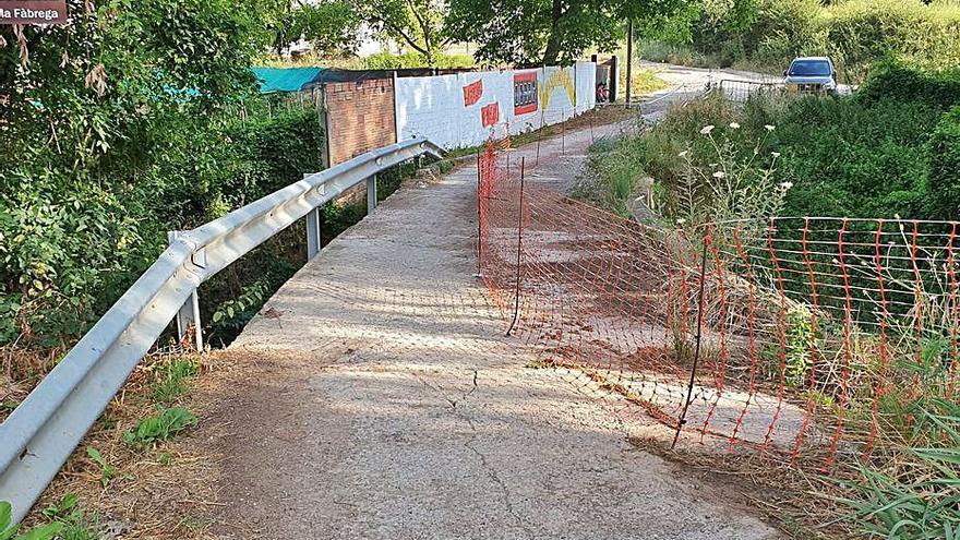 Berga reobrirà al novembre el pont de la Fàbrega després d'un any tancat