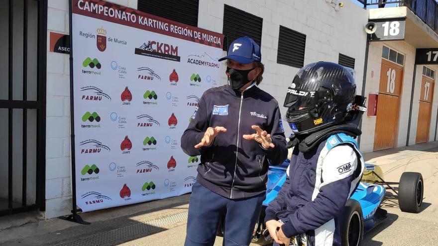 Emerson Fittippaldi, un mito en el Circuito de Cartagena