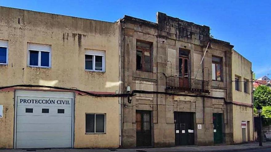 Moaña aprueba la subvención y licitación de la reforma del viejo Concello