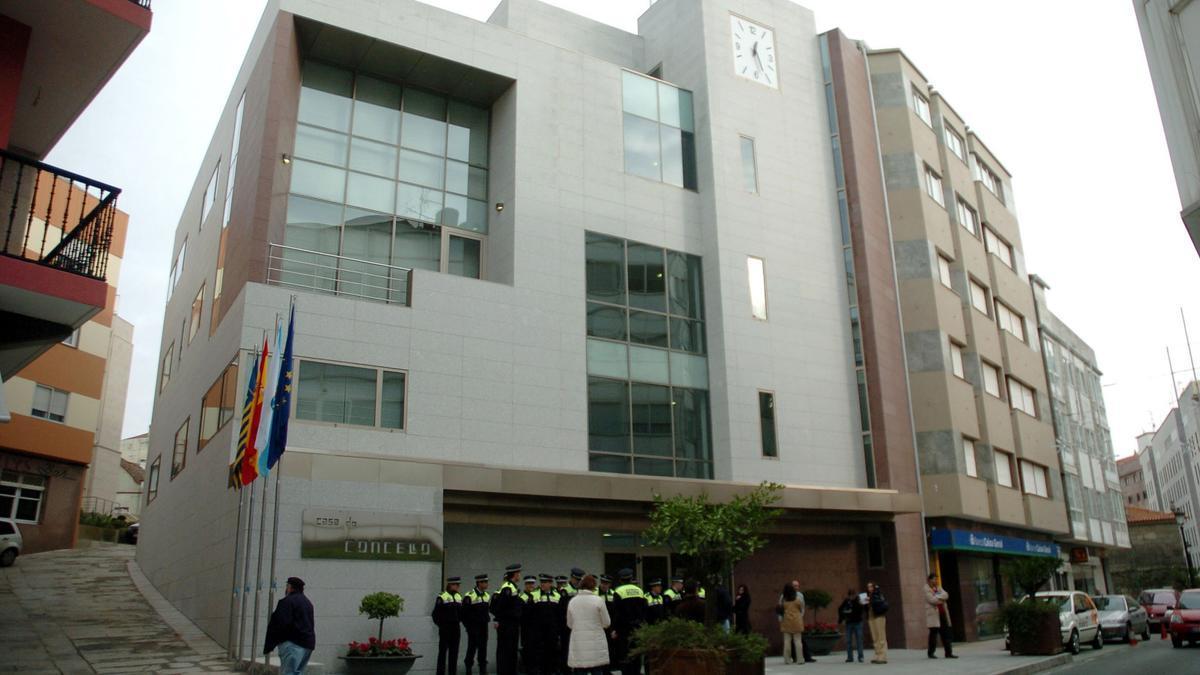 Casa do Concello de Sanxenxo.