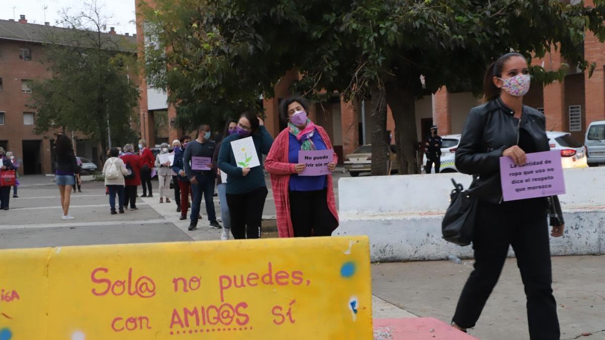 """La Plataforma Cordobesa contra la Violencia de las Mujeres marcha contra """"el negacionismo institucional"""""""