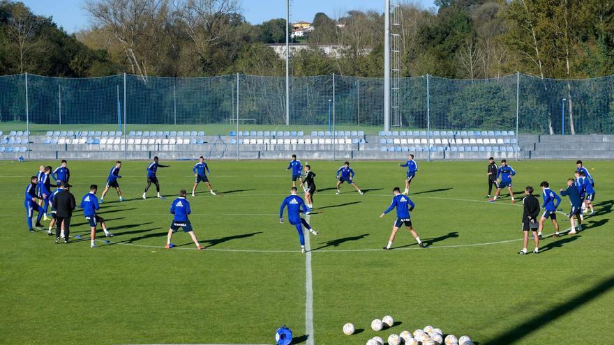 Arribas abandona el entrenamiento del Oviedo