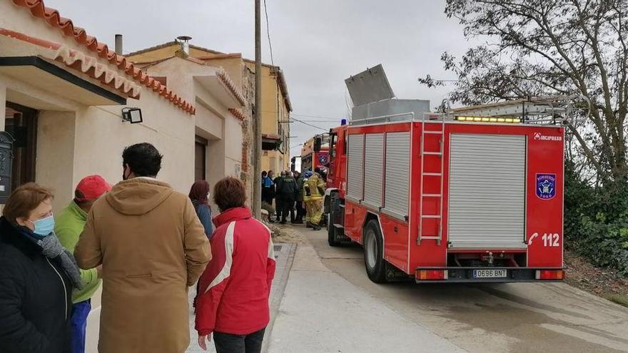 Muere un matrimonio tras el incendio de su vivienda en Zamora